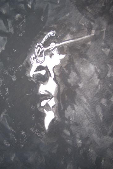 John Lennon by dabeechey